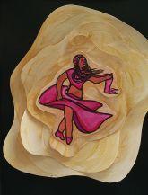 A Woman Spirals In Spiralling Air